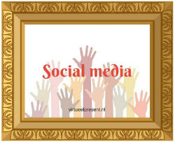 social media virtueel present